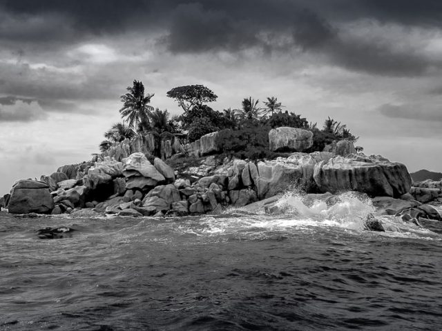 A Storm is Brewing in St. Pierre Island in the Seychelles - Getting to the best images using collections in Lightroom